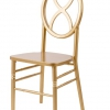 Gold Hour Glass Chair