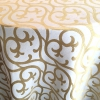 Gold Embroidered Scroll