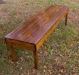Fruitwood Bench