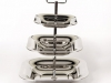 3-Tier Chrome Candy/Nut Stand